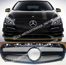 Mercedes A,w176,2013-15,AMG A45 sport look,single-fin grille,BLACK,night package