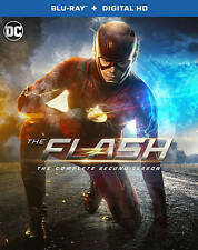 The Flash: The Complete Second Season (Blu-ray Disc, 2016, ) 2 2nd NO DIGITAL