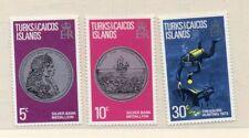 Turcas y Caicos Serie del año 1973 (DZ-866)