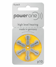 power one p10 Hearing Aid Batteries SIZE p10 Choose Quantity Free ship