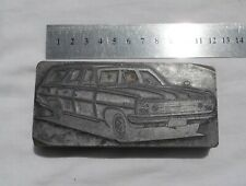 HR Holden Station Wagon Old Ink Stamp