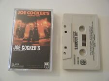 JOE COCKER COCKER'S GREATEST HITS CASSETTE TAPE A&M USA 1976