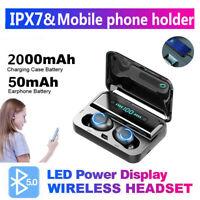 TWS Twin True Wireless Bluetooth 5.0 Sport In-Ear Earphones Headset Earbuds MINI