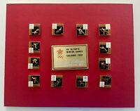 1988 CALGARY OLYMPICS Pin Set - Limited Edition