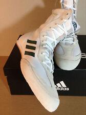 Adidas Box Hog X Special White Green Boxing Shoes US 11.5
