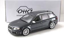 1:18 OTTO Audi RS4 Avant B7 daytona grey NEW bei PREMIUM-MODELCARS