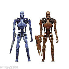 "T800 ENDOSKELETON 2 PACK 7"" FIGURES ROBOCOP VS TERMINATOR WITH PLASMA RIFLES"