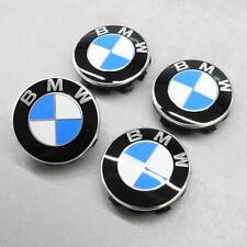 NEU Original BMW 55mm Nabenkappen Nabendeckel Felgendeckel Radnabendeckel Emblem