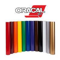 Oracal 651, Vinilo al corte, buena calidad, ancho 63cm 29 colores, Vinyl