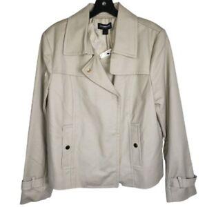 NWT Liz Claiborne Career Blazer Jacket Large LIned
