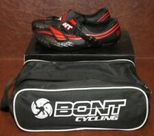 Bont Cycling Shoes A-3 A3 Moldable Black Red Size 40 US 6.5 A3MMBR-40 NIB