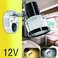 12V Light for Van Caravan Boat Motorhome Reading Spot Lights Interior LED Wall