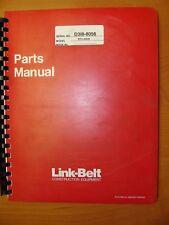 LINK-BELT RTC-8030 CRANE PARTS MANUAL (SERIAL NO. D318-8056)