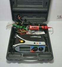MEGGER MFT1552 Multifunctional Tester ,Solid Case , Cables .