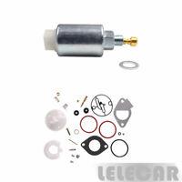Fuel Solenoid Valve and Carburetor Rebuild Kit For Briggs & Stratton