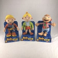 Bob the Builder Wendy and Spud Plush Set Playskool 2002 Spanish Boxes New