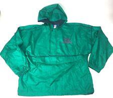 Vtg Green Purple Teal UMBRO Windbreaker Coat Jacket Track Suit Pouch Pocket L