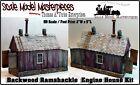 Scale Model Masterpieces/Yorke Backwoods Ramshackle Engine Shed Kit HO