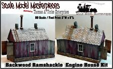 Backwoods Ramshackle Engine Shed Kit-Thomas Yorke/SMM03  HO Fine Scale Craftsman