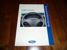 Ford Fiesta Bedienungsanleitung 10/1994