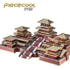 3D Metal Puzzle EPANG PALACE Architecture Model Kit DIY Assembly metal Laser Cut