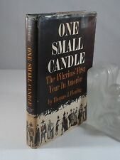"""""""One Small Candle"""" by Thomas J. Fleming. Hardcover+DJ First Edition 1964 History"""