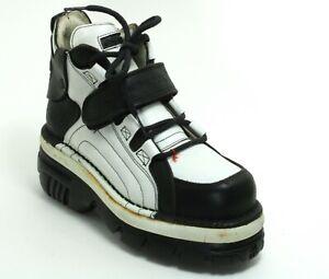 83 Stiefel Plateau Gothic Leder 90er Boots New Rock 626 Original 40