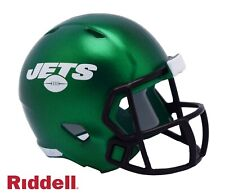 New York NY Jets Green Riddell Pocket Pro Mini Football Helmet - New in Package