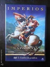 DVD IMPERIOS - NAPOLEON Nº 3 - CUMBRES DE GRANDEZA - COMO NUEVA (4H)