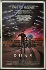 Dune 1984 Original 27X41 Nr Mint Gerollt Film Poster David Lynch Kyle Maclachlan