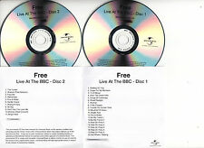 FREE Live At The BBC UK 31-trk numbered/watermarked promo test 2CD