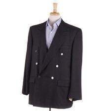 New $7500 BIJAN Charcoal Gray Mid-Weight Cashmere Blazer 46 R Sport Coat