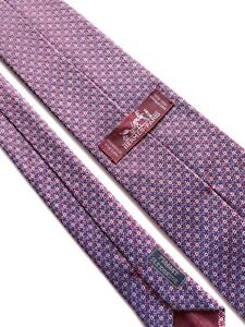 Hermes Paris Tie 758888 T Silk 100%  Authentic 100% Made In France.