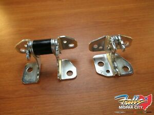 2013-2021 Jeep Grand Cherokee Driver's Side Door Hinges Front AND Rear OEM Mopar