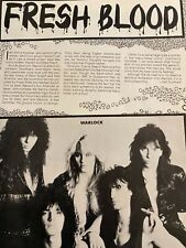Doro Pesch, Warlock, Full Page Vintage Clipping