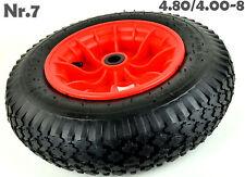 4.80/4.00-8, 400mm Schubkarrenräder Schubkarre Räder Reifen+Felgen k40