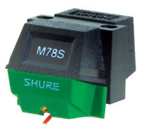 SHURE M78S DJ PHONO CARTRIDGE