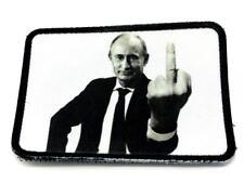 Putin Finger sublimiert Klettverschluss Morale Patch