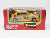1:43 BBURAGO BURAGO DIE CAST METAL MODEL 4116 PEUGEOT 205 SAFARI [QL3-023]