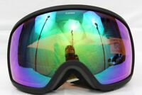 Electric EGG Volt Stripe Snowboard Ski Goggles Brose / Green Chrome