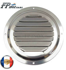 Grille inox Ronde Ø 152 mm inox Grille aération ventilation