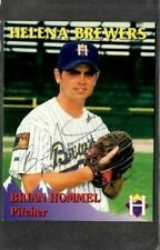 Rocky Mountain Motors #27 Brian Hommel Helena Brewers signed autograph (E48)