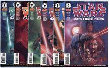 Star Wars: Dark Force Rising #1 - 6  Complete Set  avg. NM 9.4  Dark Horse  1997