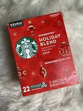 Starbucks Holiday Blend 2019 K Cups 22 Count BB 4/17/20
