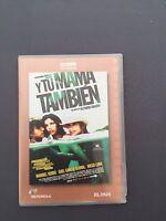 DVD Y TU MAMÁ TAMBIÉN - Alfonso Cuarón - Maribel Verdú Gael García Diego Luna