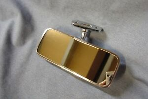 NEW STAINLESS CLASSIC CAR INTERIOR MIRROR UNIVERSAL