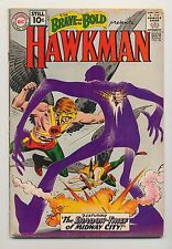 Brave and the Bold #36 (1961) GD/VG (3.0) ~ Hawkman ~ Hawkgirl ~ Joe Kubert