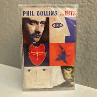 PHIL COLLINS - ...Hits - NEW OLD STOCK Cassette Tape - SEALED
