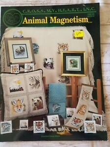 Animal Magnetism Cross My Heart Inc Counted Cross Stitch Booklet