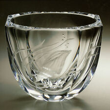 Faberge Work Master Crystal World of Water Vase Engraved Museum Reproduction